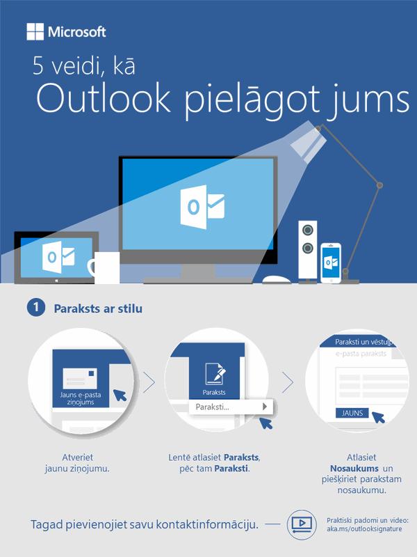 5paņēmieni, kā Outlook var strādāt jūsu labā