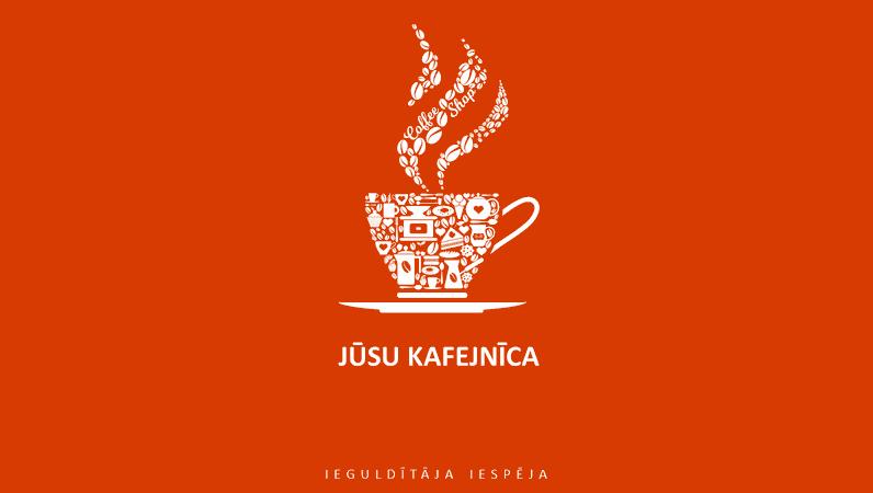 Kafejnīcas uzņēmuma pārskata prezentācija