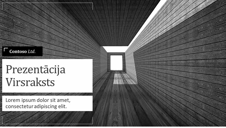 Arhitektūras projekta prezentācija