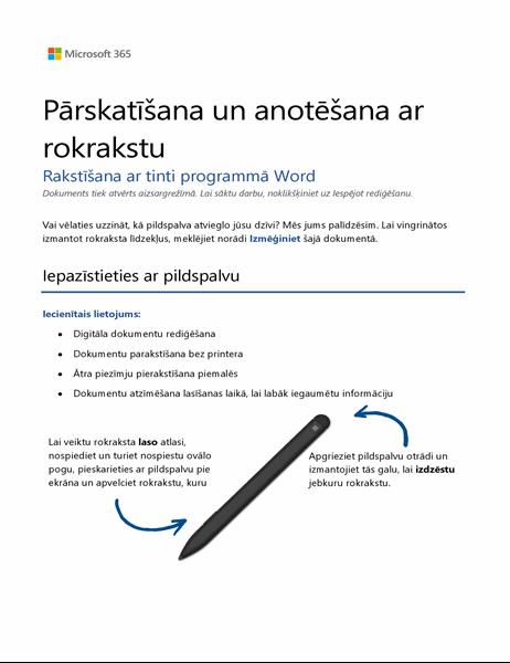 Esiet sveicināts programmā Word!