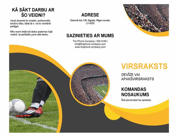 Sporta brošūra