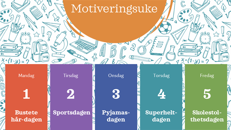 Kalender for skolemotiveringsuke