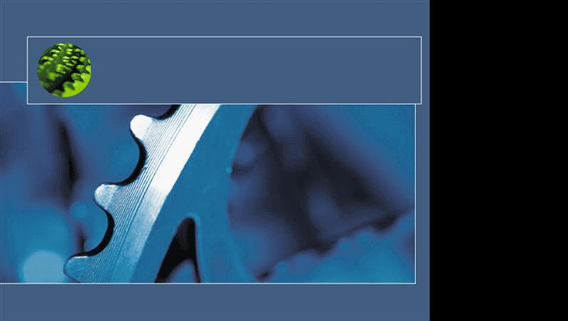 Blå utformingsmal for svinghjul