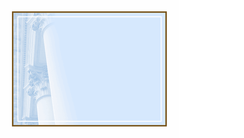 Utformingsmal med korintiske søyler