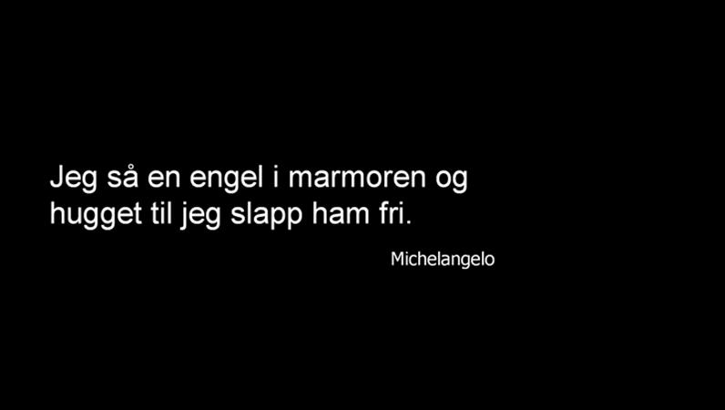 Michelangelo – sitatlysbilde
