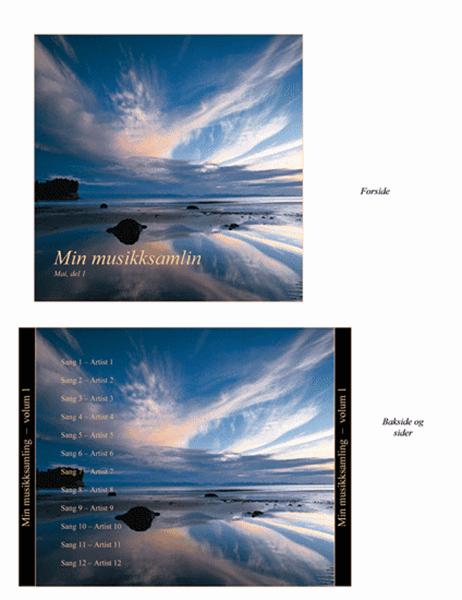 Omslag for CD med min musikksamling