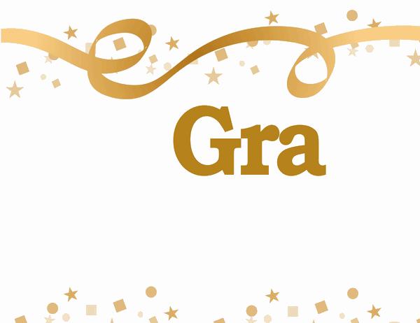 Gratulerer med dagen, (navn)-banner