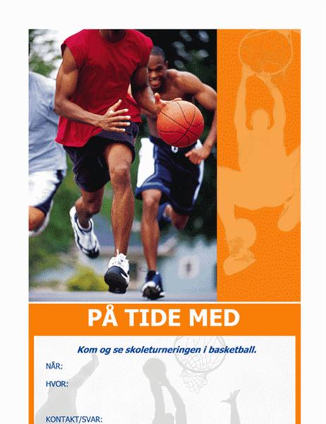 Invitasjon til basketballfest