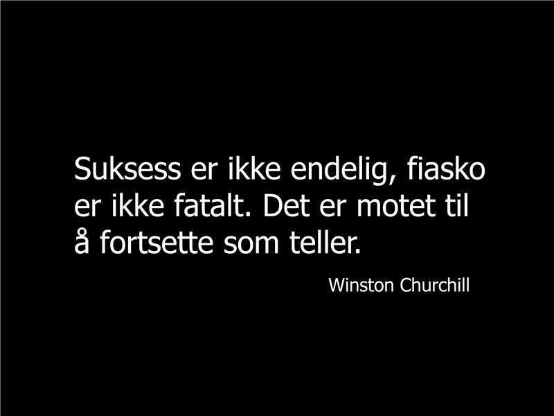 Winston Churchill – sitatlysbilde