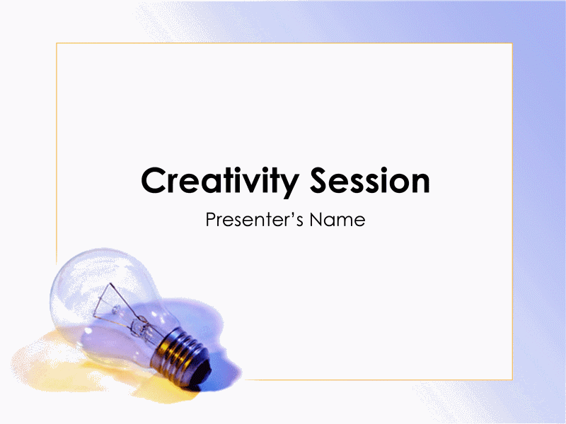 Presentasjon for idédugnad