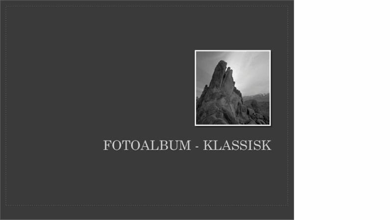 Fotoalbum – klassisk