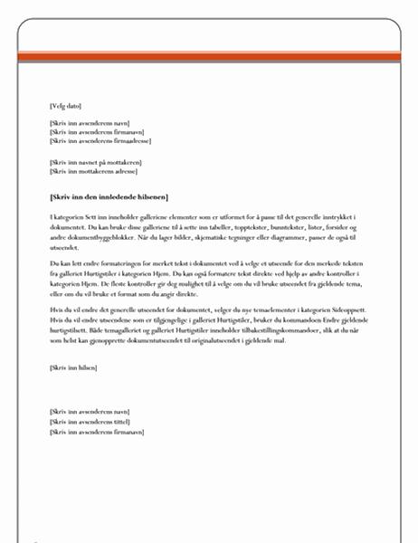 Brev (Egenkapital-utforming)