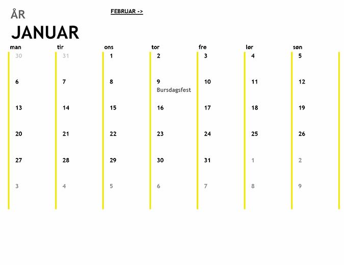 12-månederskalender