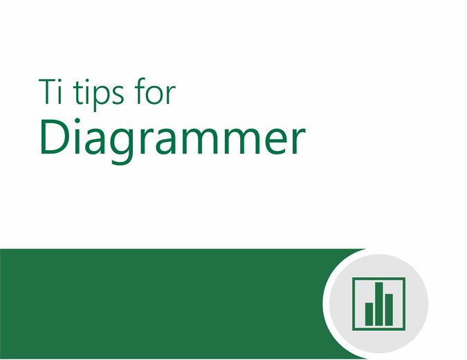 Ti tips for diagrammer
