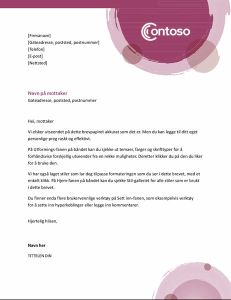 Rosesett-brevhode