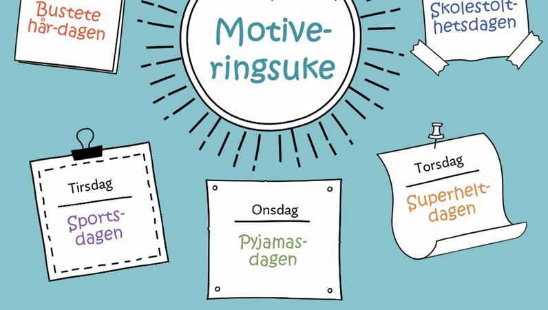 Kalender for motiveringsuke