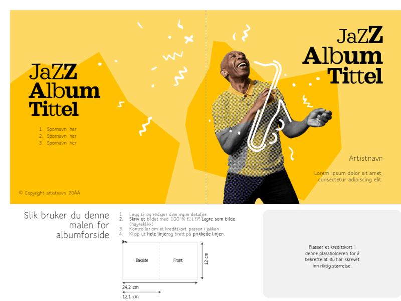 Omslag på jazzalbum