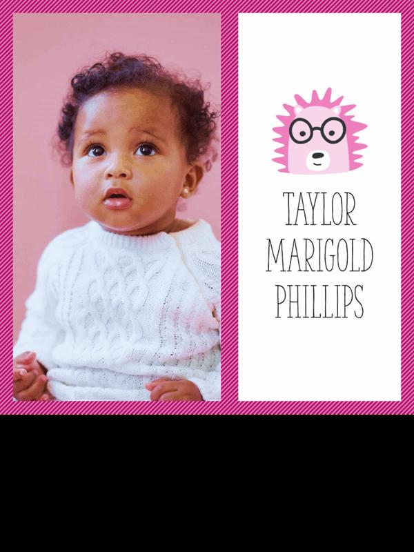 Fotomontasjealbum for babybilder