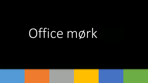 Office – mørk 1