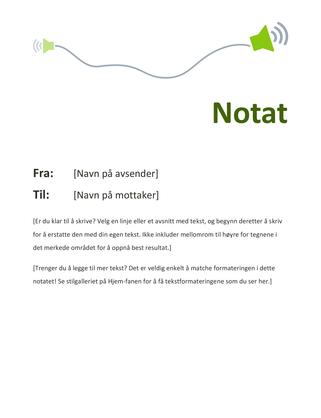 Notat