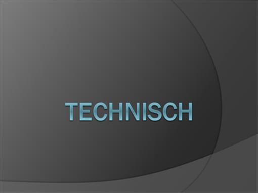Technisch