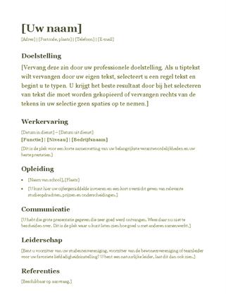 CV (groen)