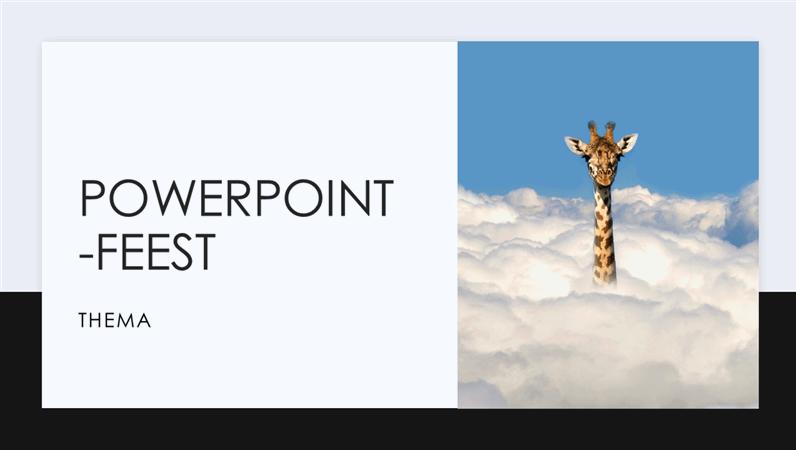 PowerPoint-feest