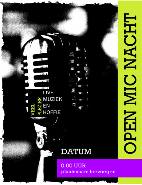 Open mic nacht