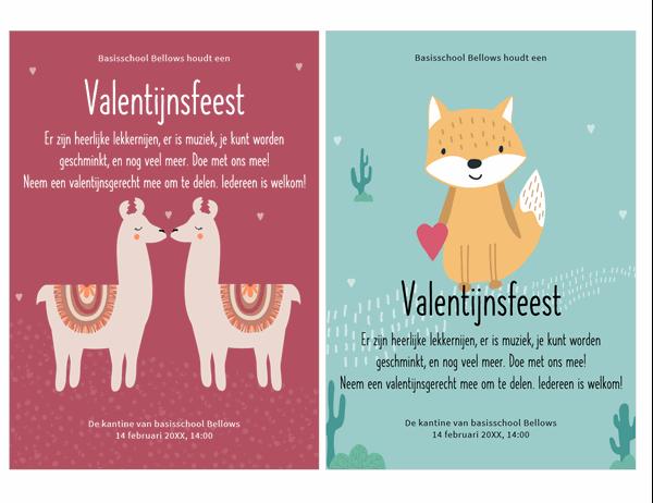 Valentijnsflyer voor kinderen