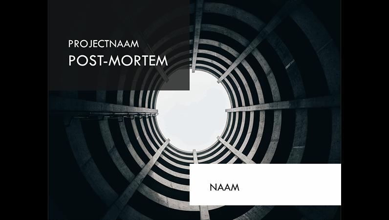 Presentatie voor project postmortem