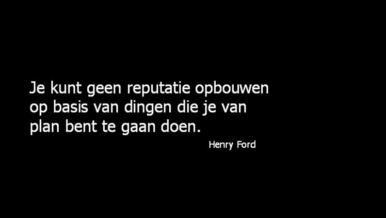 Een dia met een citaat van Henry Ford