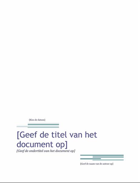 Rapport (thema Urban)