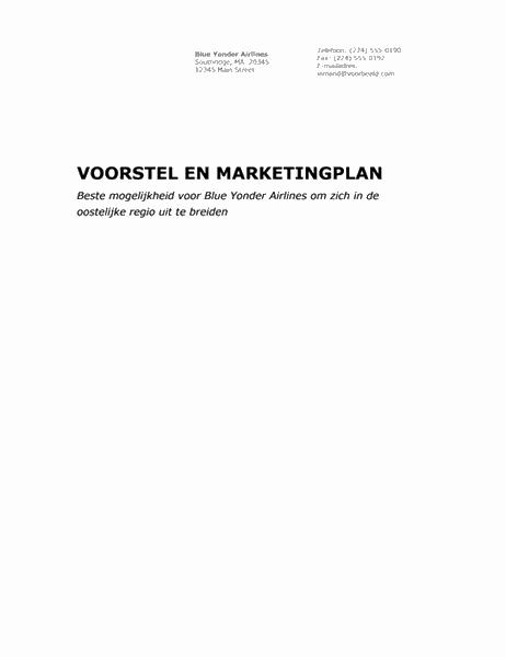 Bedrijfsrapport (professioneel thema)