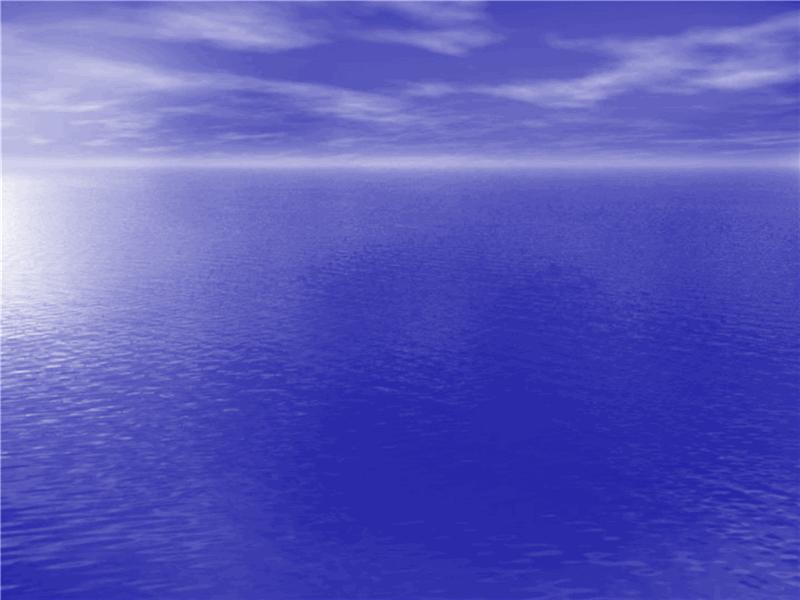 Ontwerpsjabloon Oceaan