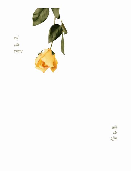 Romantiek (met roos)