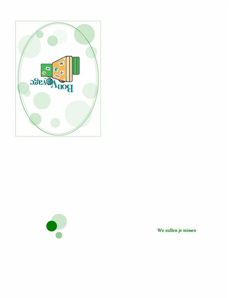 Afscheidskaart