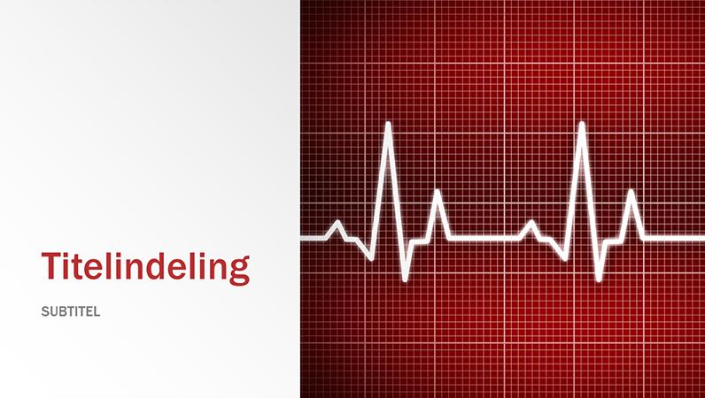 Presentatie met medisch ontwerp (breedbeeld)