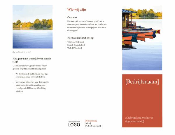 Zakelijke brochure