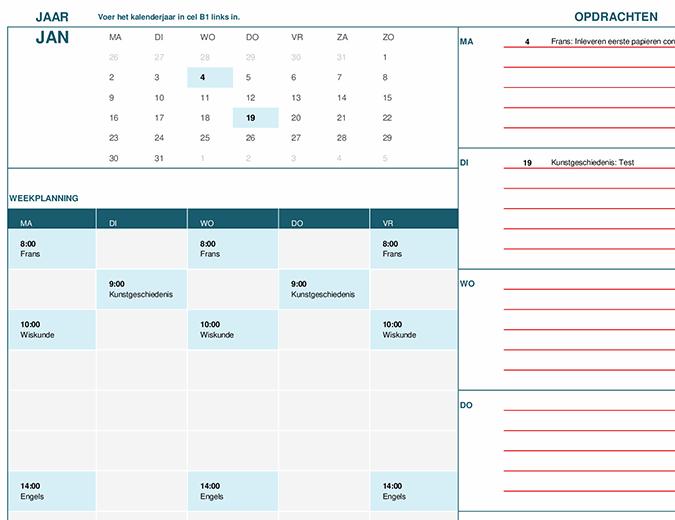 Studentenkalender (ma)