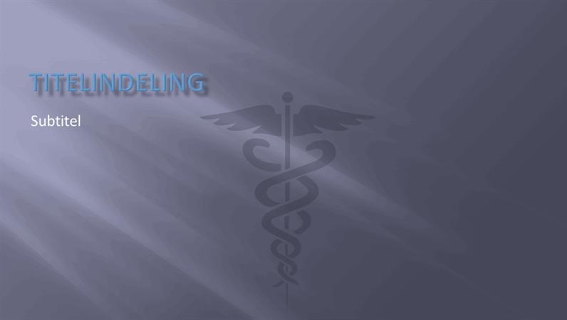 Ontwerpdia's voor medische presentaties