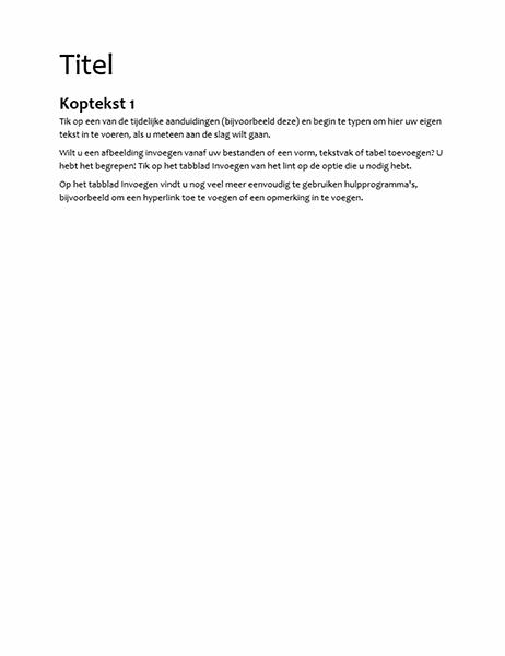 Specificatieontwerp (leeg)