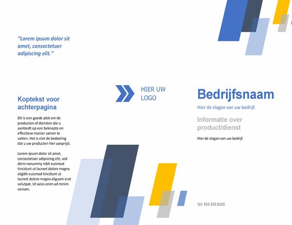 Brochure (Balken ontwerp)