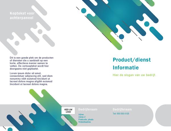 Brochure (ontwerp met capsules)