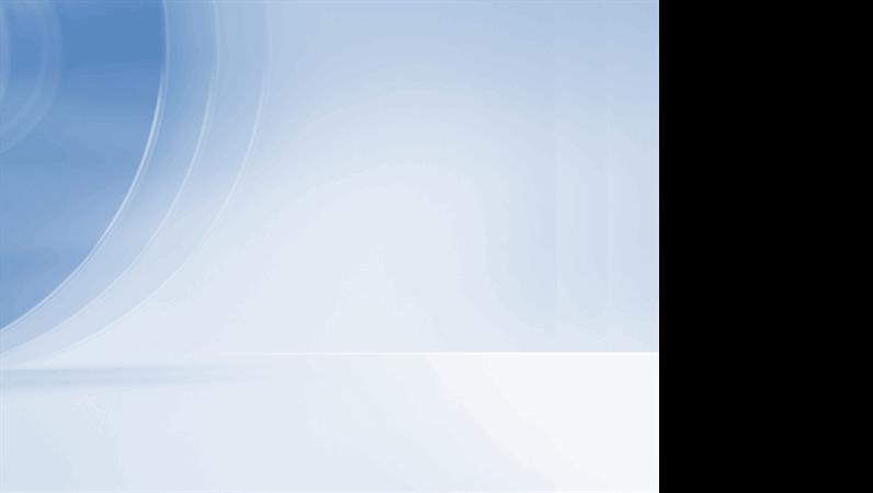 Sjabloon met modern blauw ontwerp