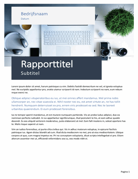 Rapport (thema Oorsprong)