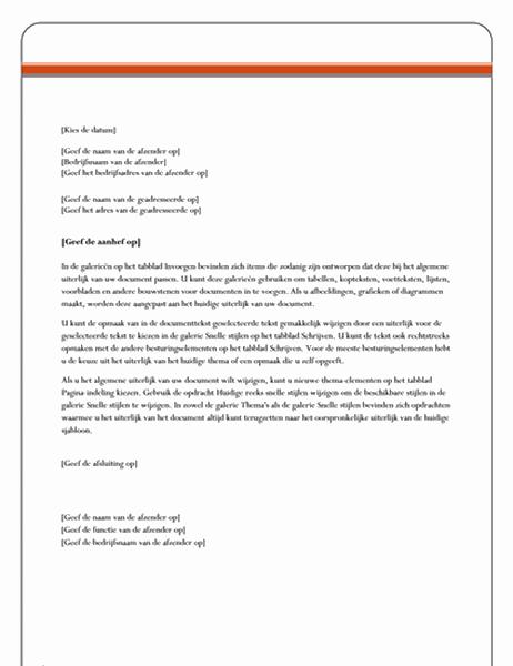 Brief (ontwerp Equity)