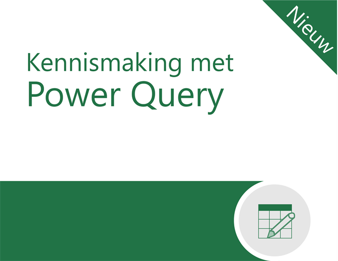 Zelfstudie voor Power Query
