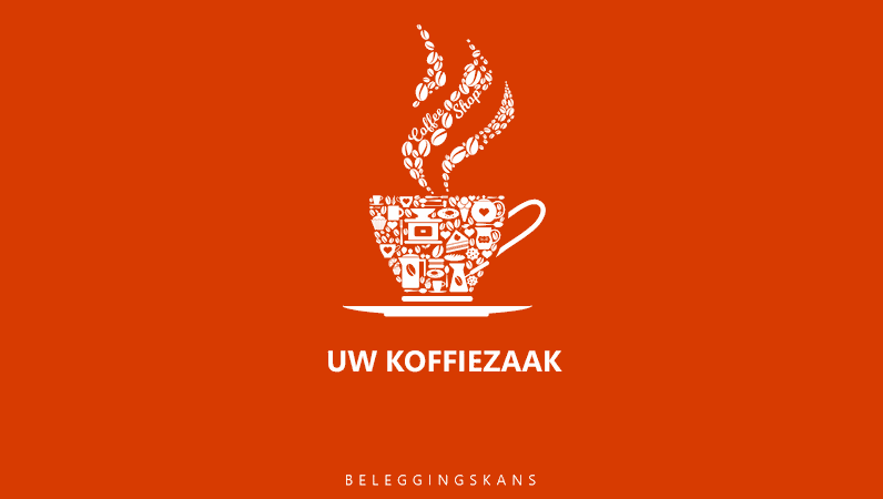 Verkooppresentatie voor koffiezaak