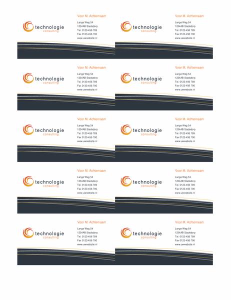 Visitekaartje technologie (10 per pagina)