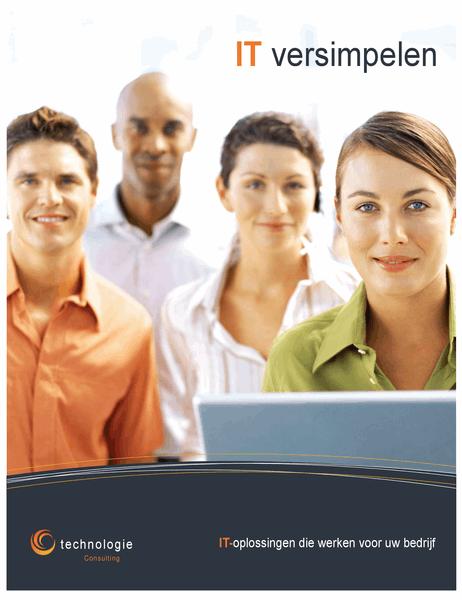 Poster Technologiebedrijf (verticaal)
